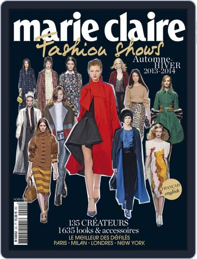 Marie Claire Fashion Shows (Digital) April 26th, 2013 Issue Cover