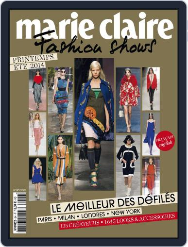 Marie Claire Fashion Shows (Digital) December 2nd, 2013 Issue Cover