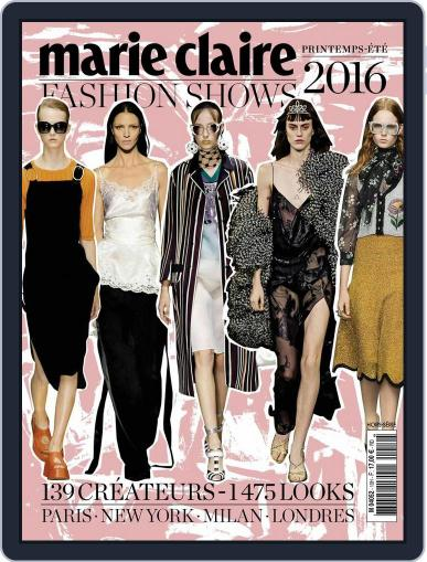 Marie Claire Fashion Shows (Digital) November 26th, 2015 Issue Cover