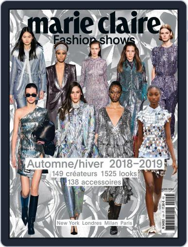 Marie Claire Fashion Shows (Digital) May 1st, 2018 Issue Cover