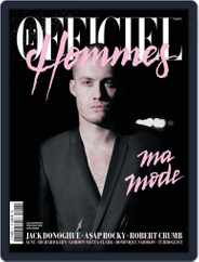 L'officiel Hommes Paris (Digital) Subscription March 14th, 2012 Issue