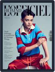 L'officiel Hommes Paris (Digital) Subscription November 1st, 2017 Issue