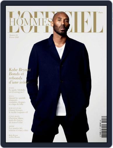 L'officiel Hommes Paris (Digital) February 1st, 2018 Issue Cover