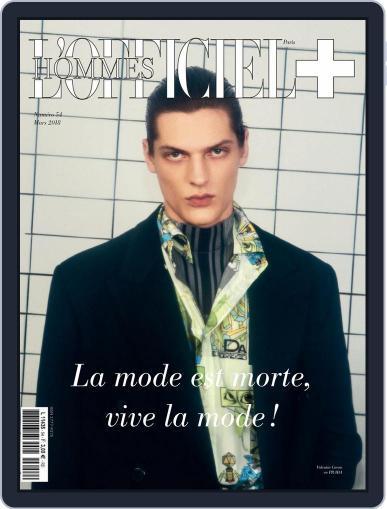L'officiel Hommes Paris (Digital) March 1st, 2018 Issue Cover