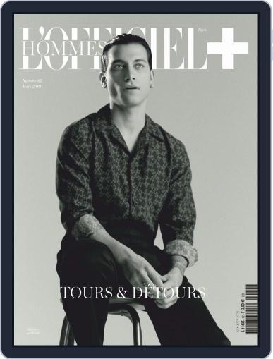 L'officiel Hommes Paris (Digital) March 1st, 2019 Issue Cover