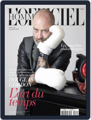 L'officiel Hommes Paris (Digital) June 1st, 2019 Issue Cover