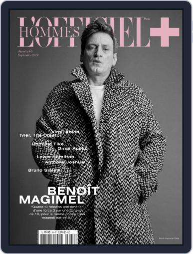 L'officiel Hommes Paris (Digital) September 1st, 2019 Issue Cover