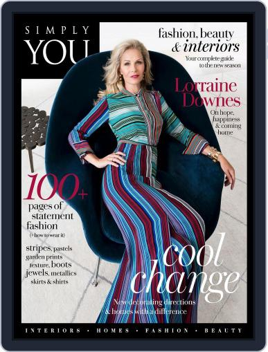 Simply You Living April 1st, 2018 Digital Back Issue Cover
