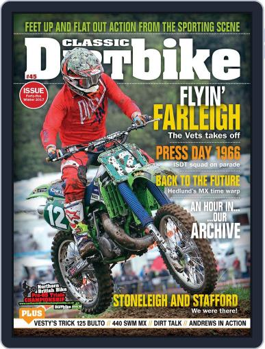 Classic Dirt Bike November 7th, 2017 Digital Back Issue Cover