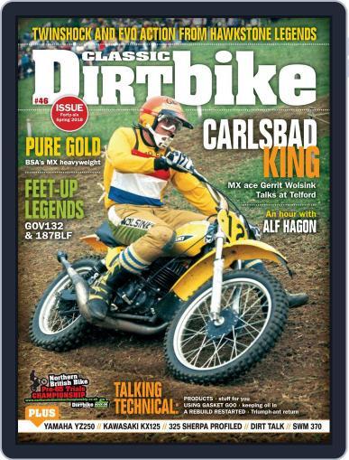 Classic Dirt Bike February 1st, 2018 Digital Back Issue Cover