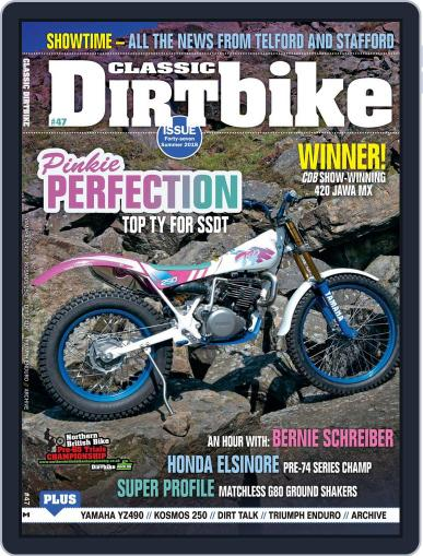 Classic Dirt Bike May 1st, 2018 Digital Back Issue Cover
