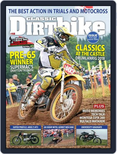 Classic Dirt Bike August 1st, 2018 Digital Back Issue Cover