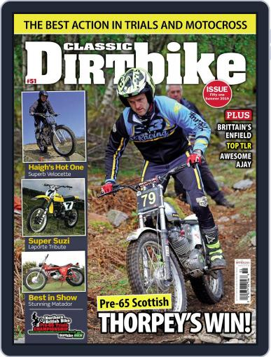 Classic Dirt Bike May 1st, 2019 Digital Back Issue Cover