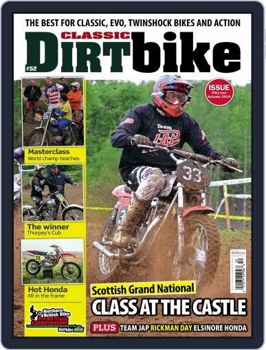 Classic Dirt Bike August 1st, 2019 Digital Back Issue Cover