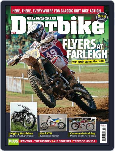 Classic Dirt Bike November 1st, 2019 Digital Back Issue Cover