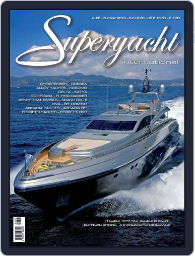 Superyacht International July 8th, 2010 Digital Back Issue Cover