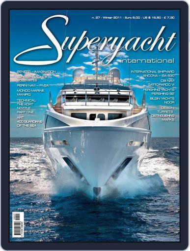 Superyacht International December 13th, 2010 Digital Back Issue Cover