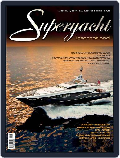 Superyacht International March 18th, 2011 Digital Back Issue Cover