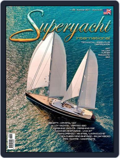 Superyacht International June 13th, 2011 Digital Back Issue Cover