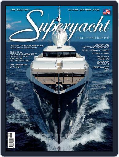 Superyacht International September 2nd, 2011 Digital Back Issue Cover