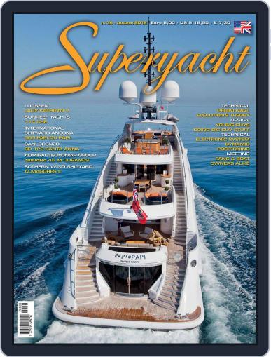 Superyacht International August 13th, 2012 Digital Back Issue Cover