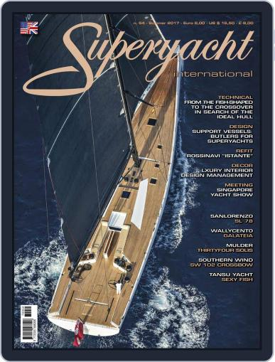 Superyacht International (Digital) July 1st, 2017 Issue Cover