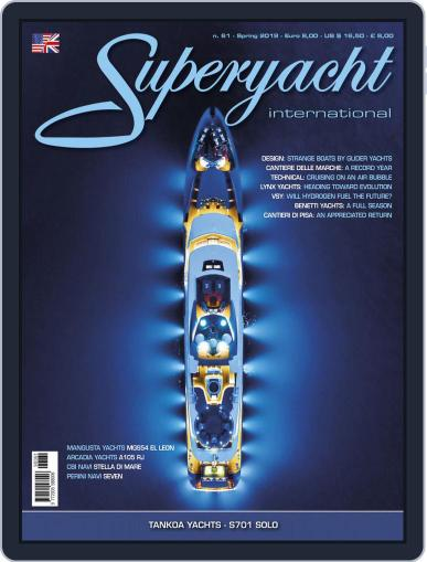 Superyacht International April 1st, 2019 Digital Back Issue Cover