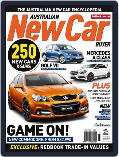Australian New Car Buyer (Digital) June 3rd, 2013 Issue Cover