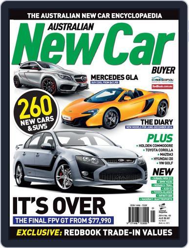 Australian New Car Buyer (Digital) June 4th, 2014 Issue Cover