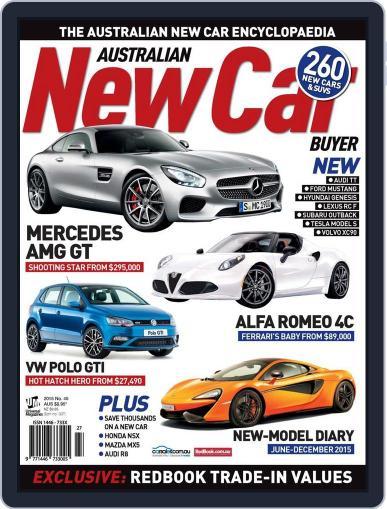 Australian New Car Buyer (Digital) November 24th, 2015 Issue Cover