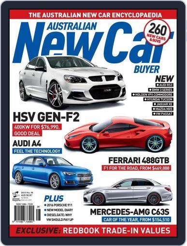 Australian New Car Buyer (Digital) December 15th, 2015 Issue Cover