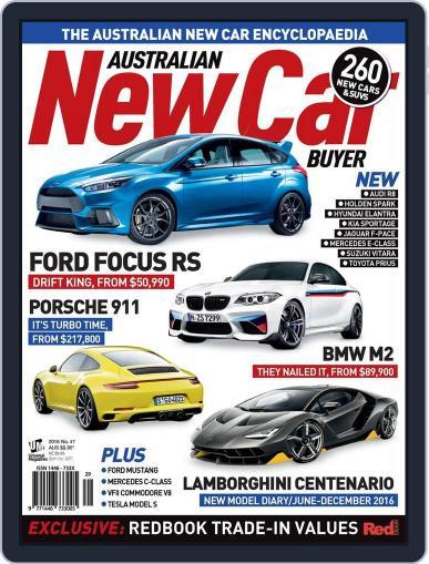 Australian New Car Buyer (Digital) June 8th, 2016 Issue Cover
