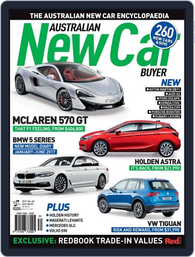 Australian New Car Buyer (Digital) January 1st, 2017 Issue Cover
