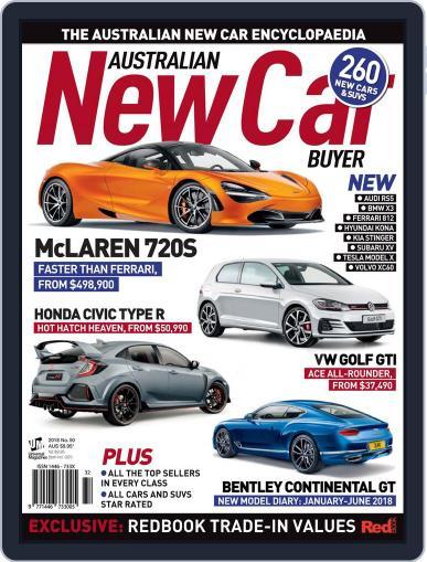 Australian New Car Buyer (Digital) January 1st, 2018 Issue Cover