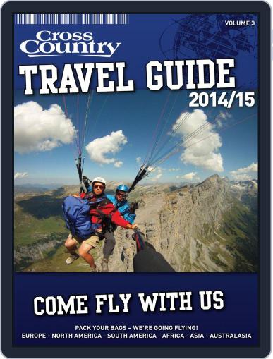 Cross Country Travel Guide January 13th, 2014 Digital Back Issue Cover