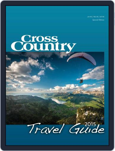Cross Country Travel Guide January 1st, 2015 Digital Back Issue Cover