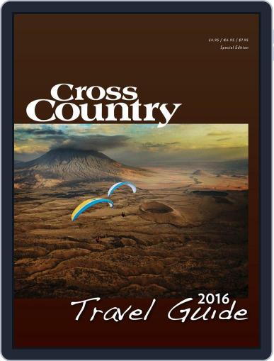 Cross Country Travel Guide January 1st, 2016 Digital Back Issue Cover