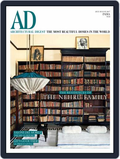 Architectural Digest India (Digital) July 1st, 2017 Issue Cover