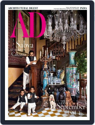 Architectural Digest India (Digital) September 1st, 2018 Issue Cover