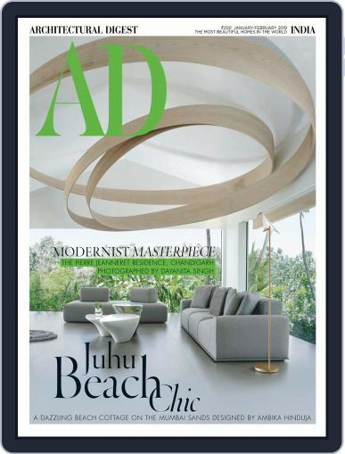 Architectural Digest India (Digital) January 1st, 2019 Issue Cover