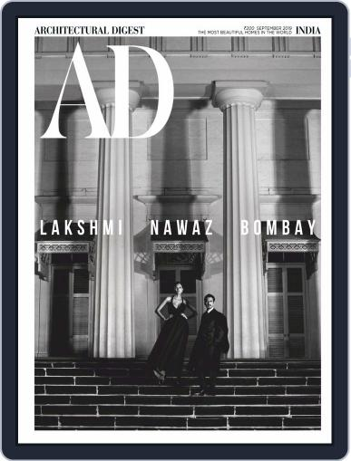 Architectural Digest India (Digital) September 1st, 2019 Issue Cover