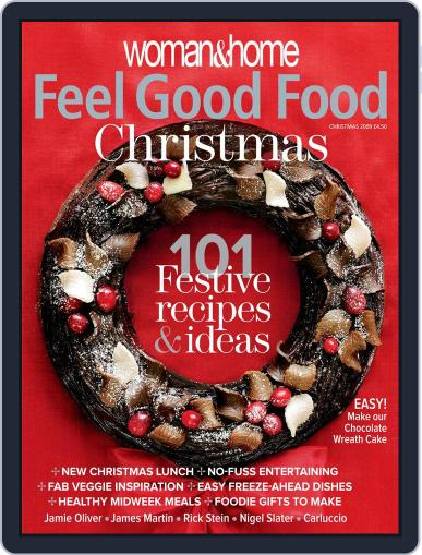 Woman & Home Feel Good Food (Digital) November 18th, 2009 Issue Cover