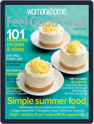 Woman & Home Feel Good Food (Digital) May 9th, 2010 Issue Cover