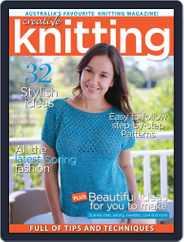 Creative Knitting (Digital) Subscription September 1st, 2016 Issue