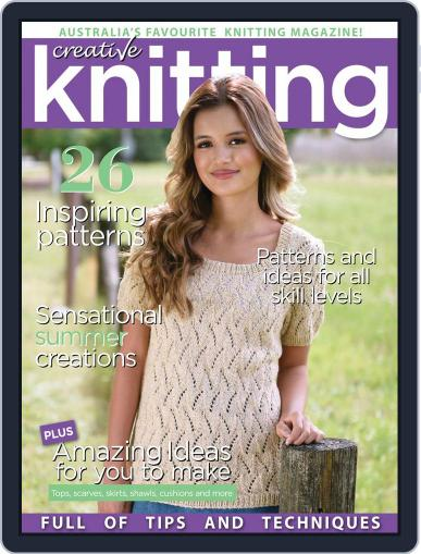 Creative Knitting December 1st, 2016 Digital Back Issue Cover