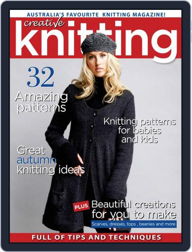 Creative Knitting January 1st, 2017 Digital Back Issue Cover