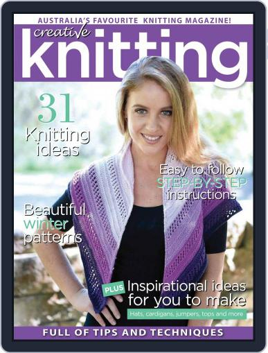 Creative Knitting May 1st, 2017 Digital Back Issue Cover