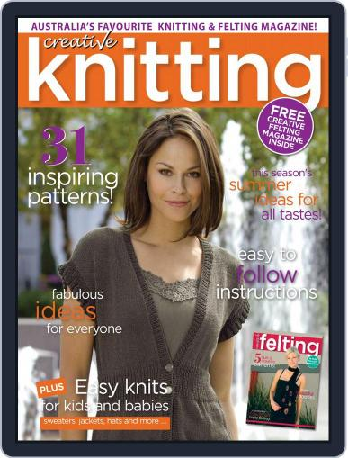 Creative Knitting November 1st, 2017 Digital Back Issue Cover