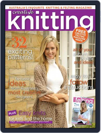 Creative Knitting January 1st, 2018 Digital Back Issue Cover