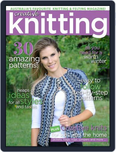 Creative Knitting May 1st, 2018 Digital Back Issue Cover
